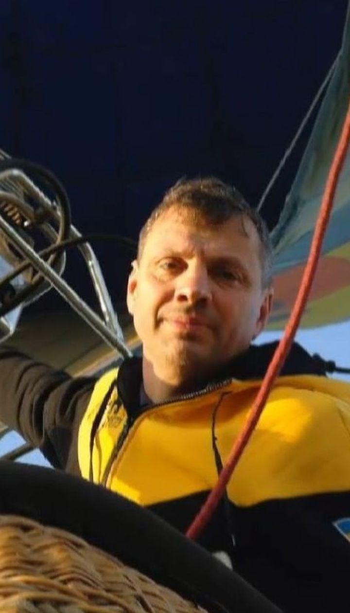 Загадочная смерть: во Львовской области опытный пилот выпал из корзины воздушного шара и разбился