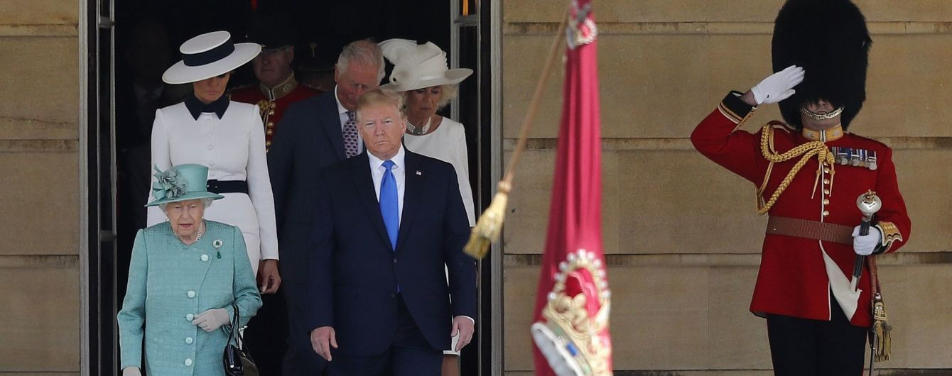 Вторая попытка: на фоне общественного недовольства Дональд Трамп совершил государственный визит в Британию