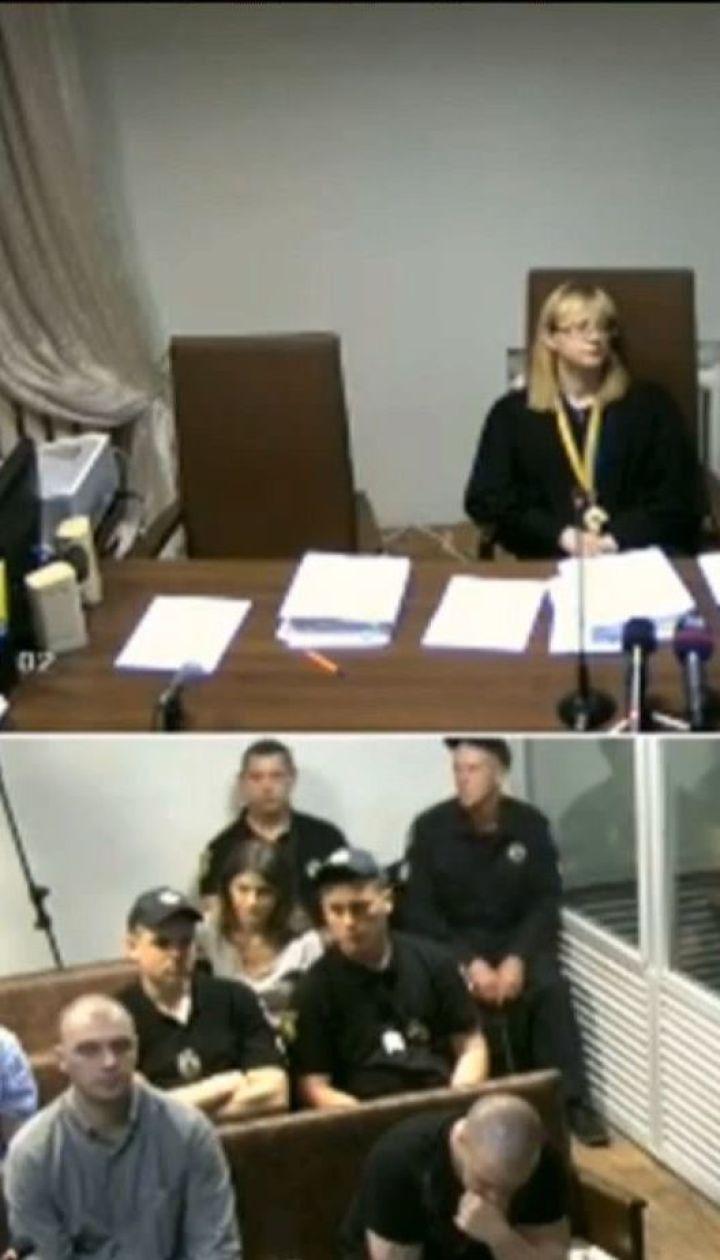 Усі обвинувачені в нападі на Гандзюк визнали себе винними
