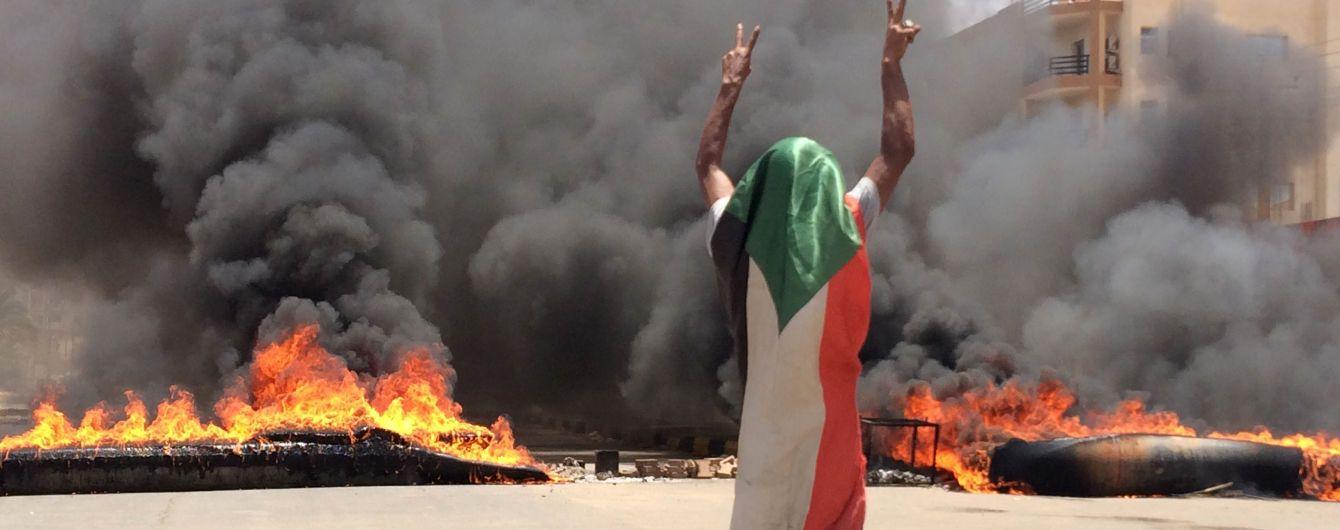В Судане во время разгона протестующих погибли более 30 человек