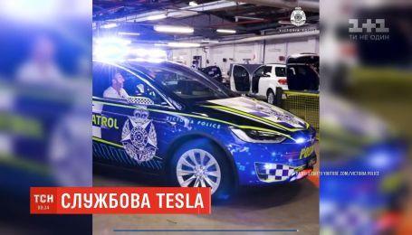 Поліція австралійського штату Вікторія закуповує автомобілі Tesla