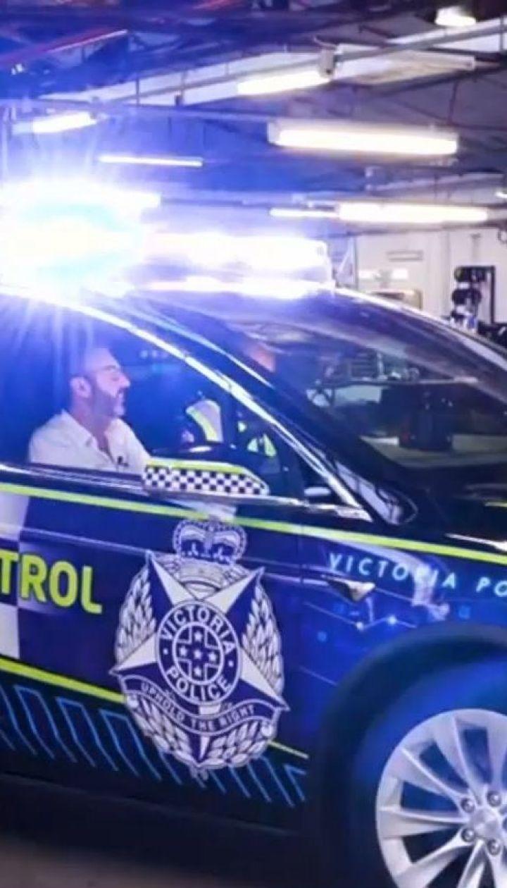 Полиция австралийского штата Виктория закупает автомобили Tesla