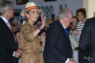 У штанях з лампасами і капелюсі: принцеса Олена знову супроводжує батька-короля на кориду