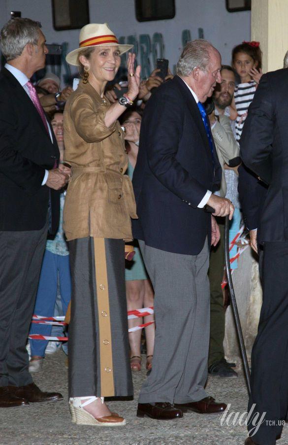 Принцесса Елена и король Хуан Карлос I