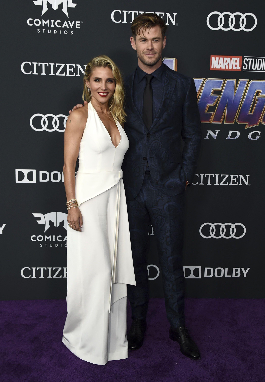 Кріс Гемсворт з дружиною