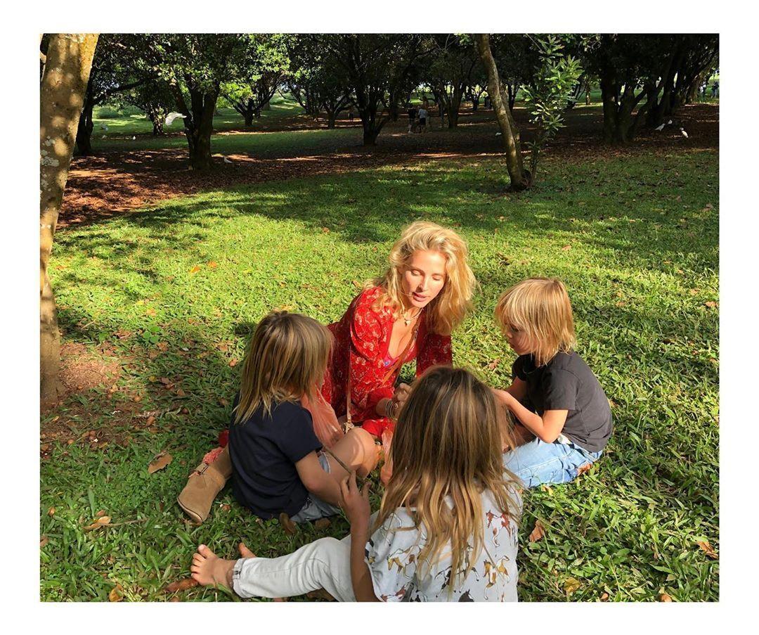 Ельза Патакі з дітьми