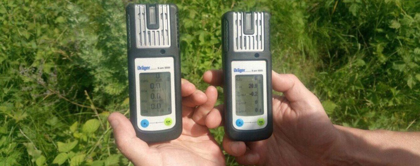 Специалисты проводят замеры воздуха из-за пожара на птицефабрике в Василькове