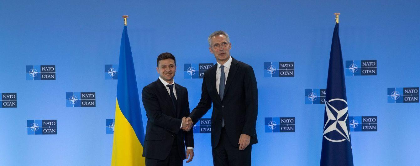 Во время брифинга с генсекретарем НАТО Зеленский перечислил ближайшие реформы в Украине