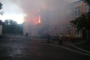 В Кировоградской области молния попала в здание районной администрации