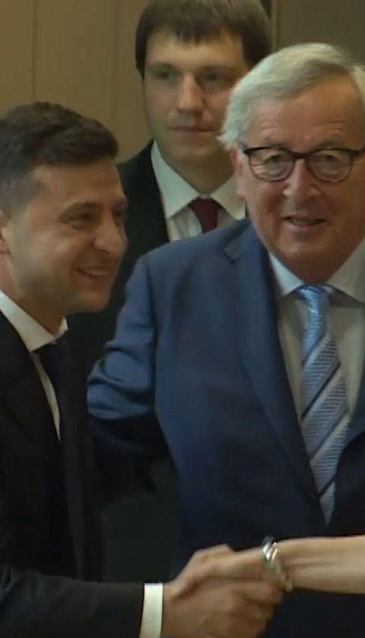 Зеленский в Брюсселе провел встречи с главами Евросоюза и НАТО