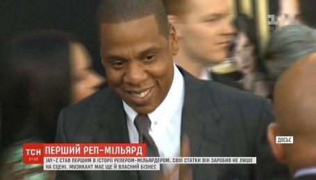 Jay-Z стал первым в истории рэпером-миллиардером