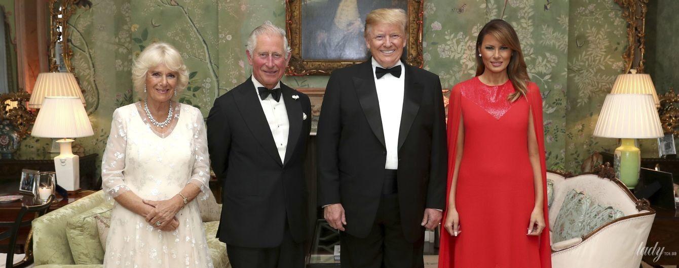 Не хуже Мелании Трамп: 71-летняя герцогиня Корнуольская надела на прием красивое белое платье
