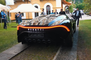 Найдорожчий гіперкар планети за $19 млн зняли на дорозі в Італії