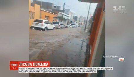 Мексика страдает от масштабного наводнения