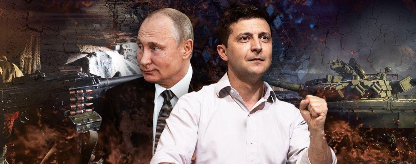 Принуждение к миру, Украина и Россия