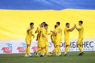 Сборная Украины впервые за 10 лет выиграла турнир памяти Лобановского