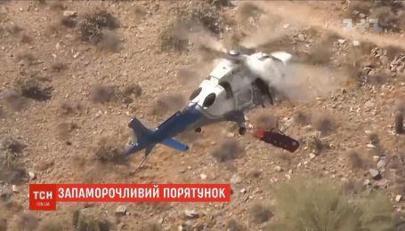 Во время эвакуации вертолетом американку раскрутило на носилках со скоростью 150 оборотов в минуту