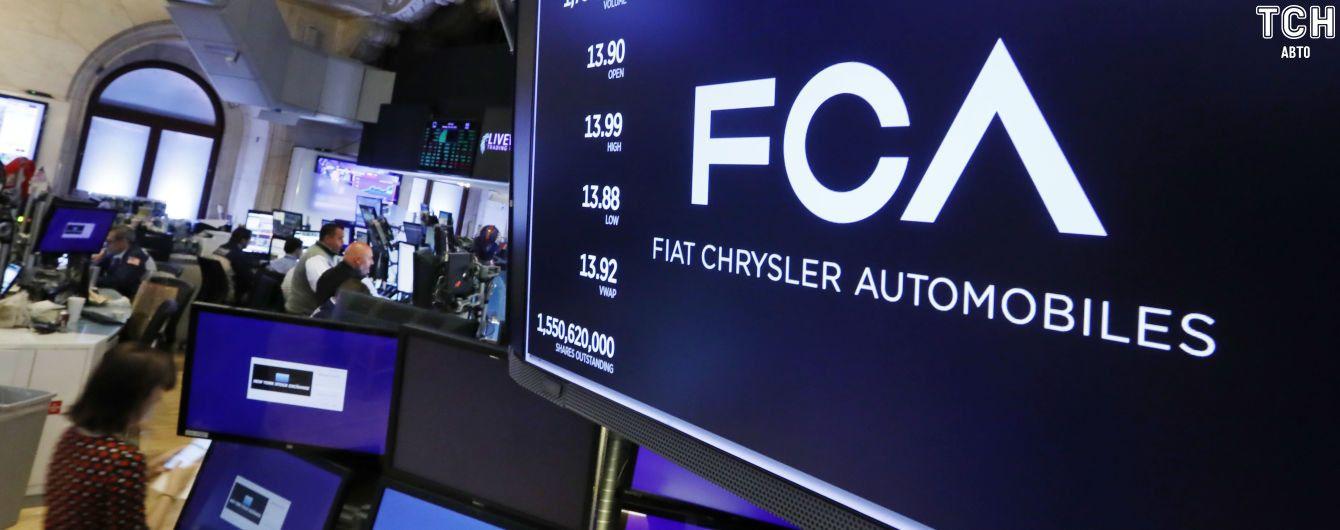 Renault провалил сделку о слиянии с Fiat Chrysler