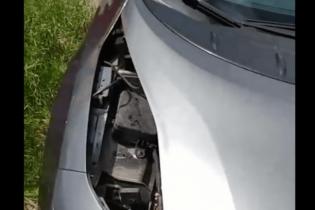 У Харкові автозлодії розібрали на деталі Nissan Leaf. Відео