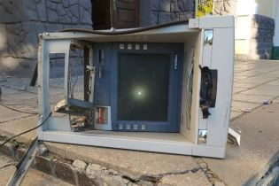 На Харківщині невідомі підірвали банкомат і вкрали касети з грошима