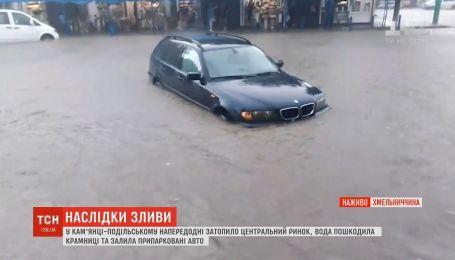 По Украине прокатились ливни со шквалистым ветром