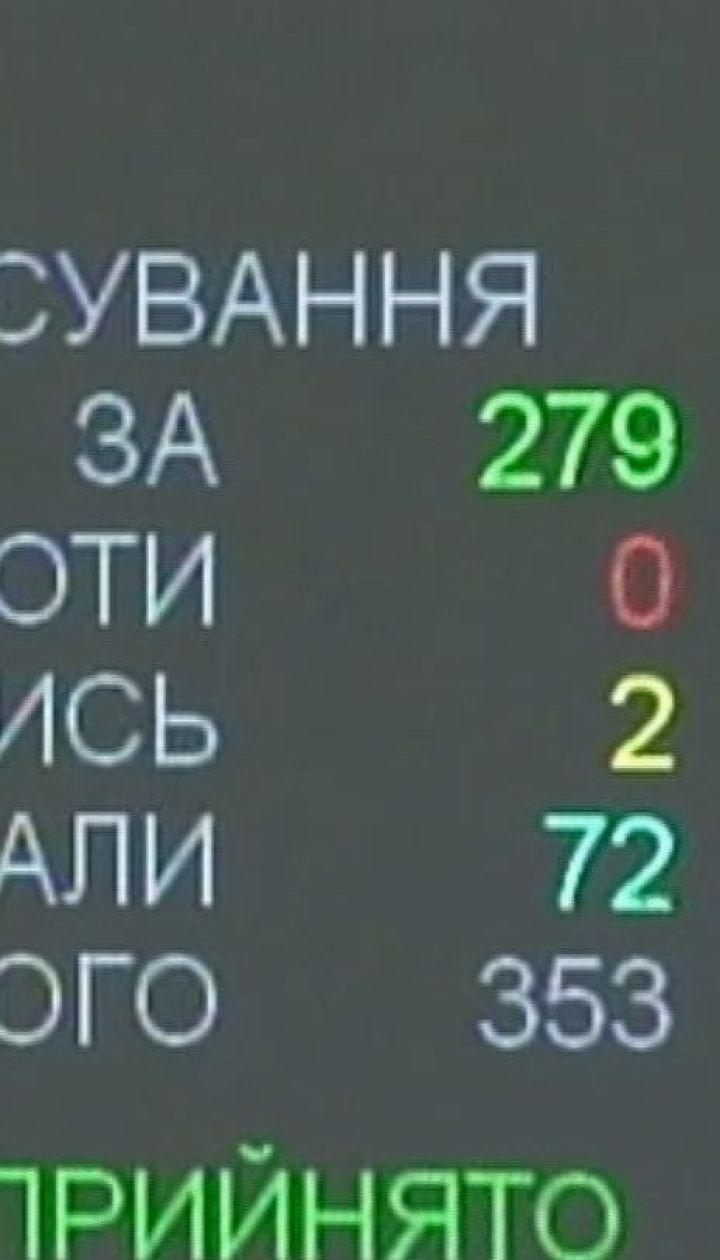 Депутати ВР ухвалили закон, який передбачає процедуру імпічменту