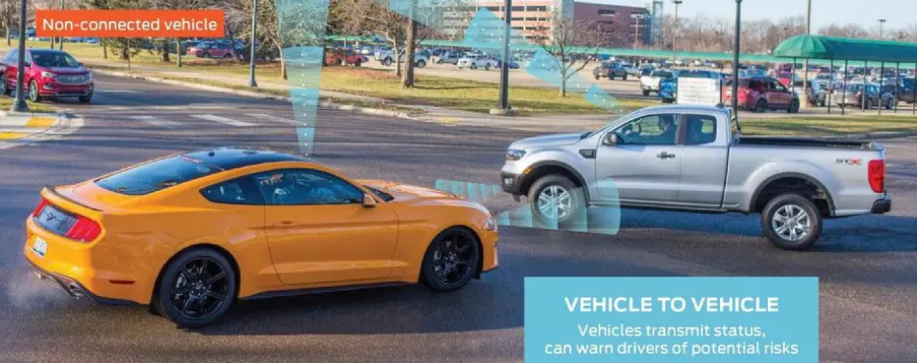 Машины Ford научат собирать информацию со смартфонов пешеходов