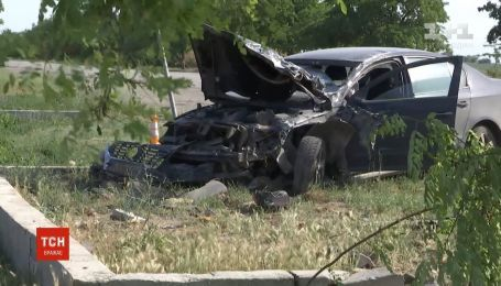 От самосуда водителя-убийцу спасла полиция в Херсонской области