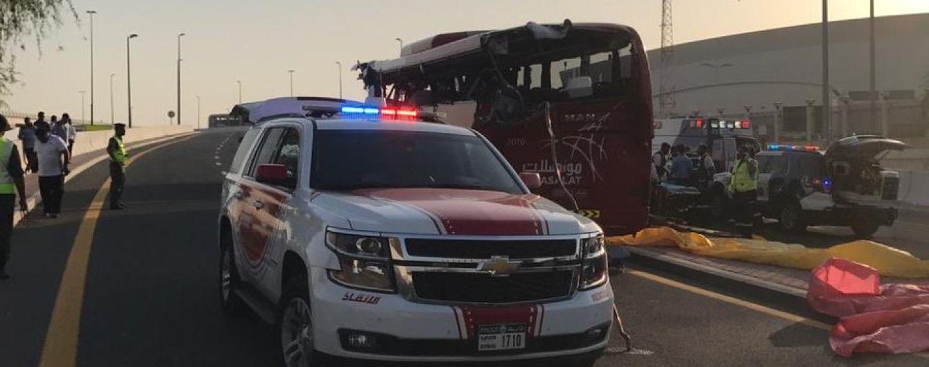 В Дубае в ДТП с туристическим автобусом погибли 17 человек