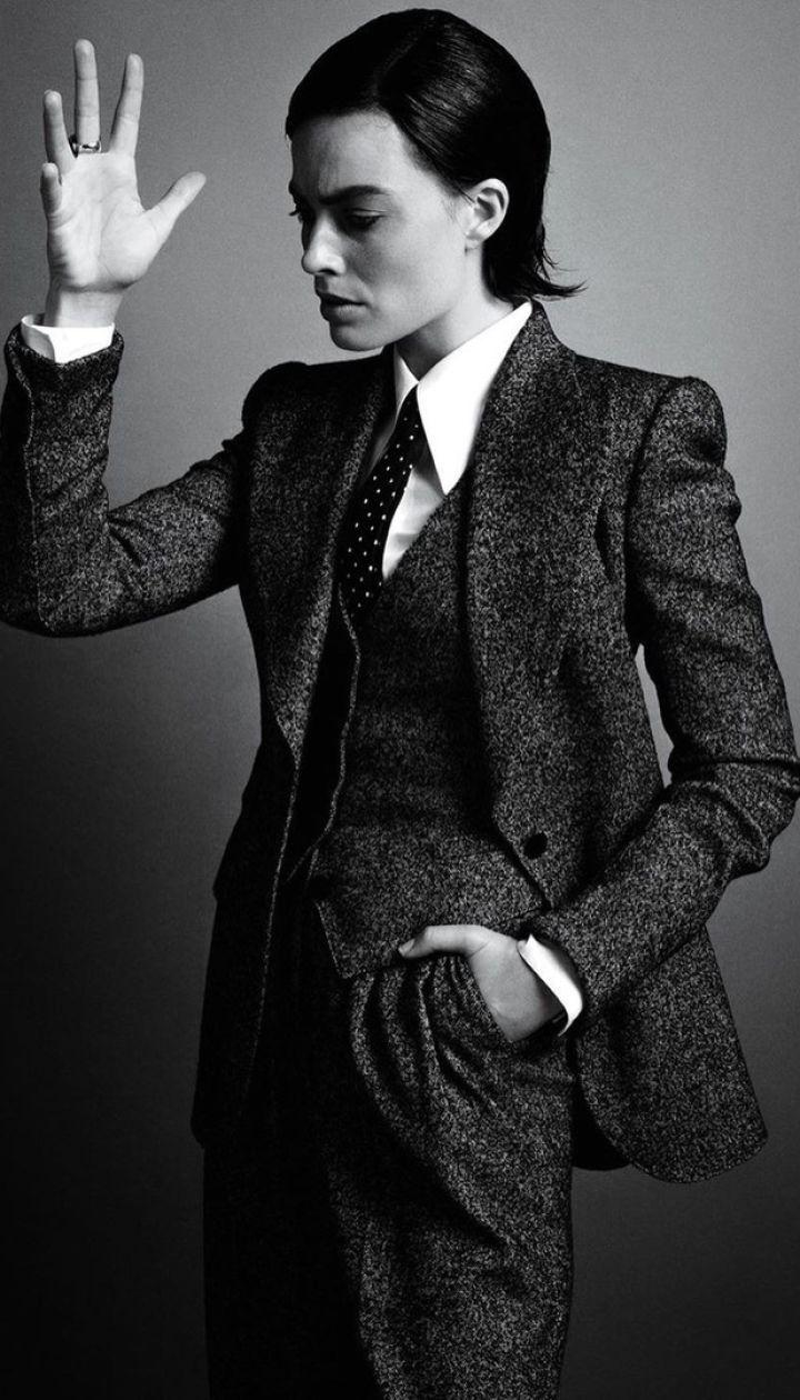 Марго Робби в фотосете для US Vogue