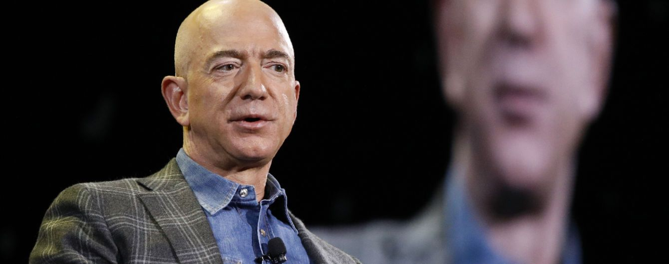 Безос втратив звання найбагатшої людини в світі – Forbes