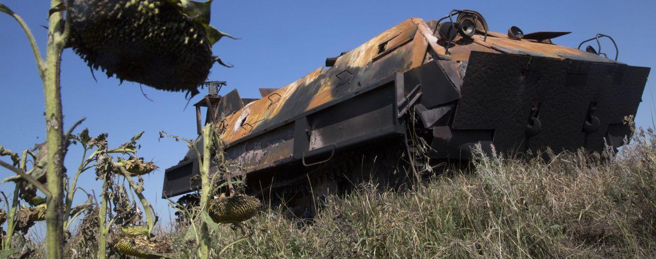 Ситуация на Донбассе. Российские боевики уменьшили количество обстрелов украинских позиций