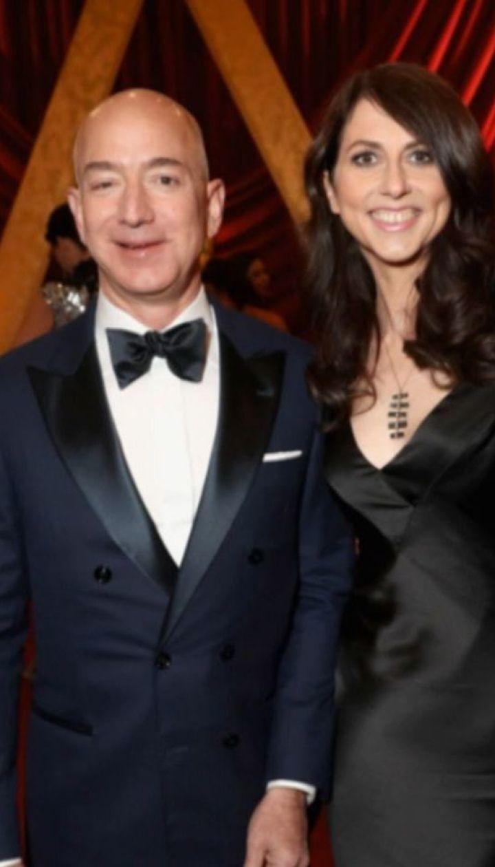 Рекордне розлучення: дружина Джеффа Безоса отримає 35 млрд компенсації
