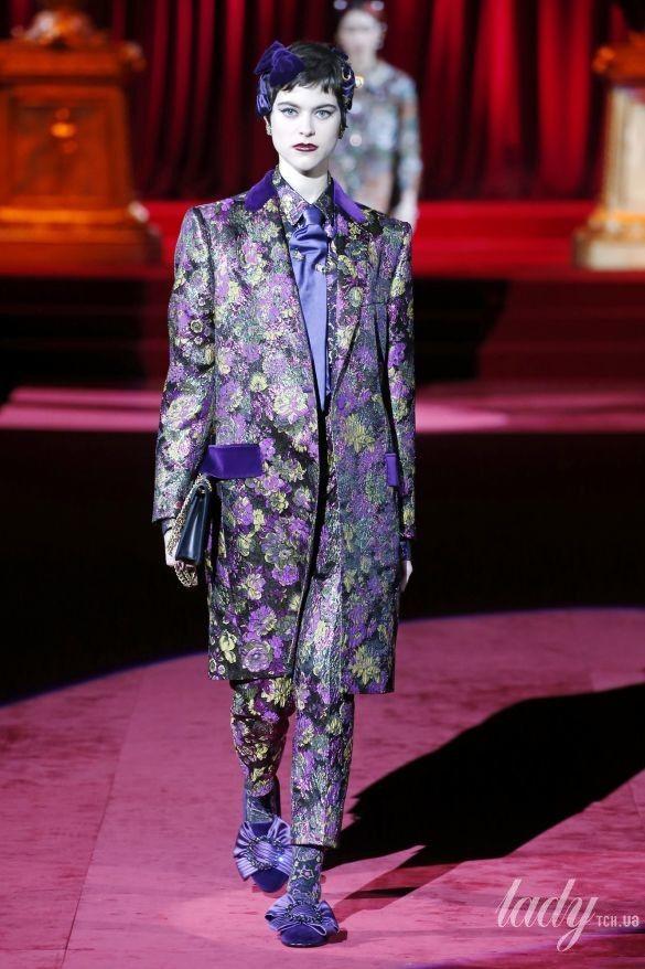 Коллекция Dolce & Gabbana прет-а-порте сезона осень-зима 2019-2020_100