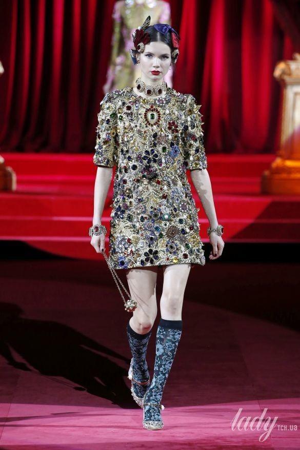 Коллекция Dolce & Gabbana прет-а-порте сезона осень-зима 2019-2020_102