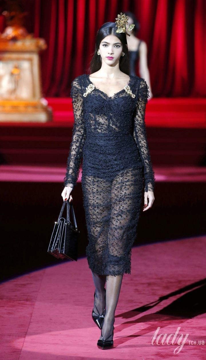 Коллекция Dolce & Gabbana прет-а-порте сезона осень-зима 2019-2020 @ East News