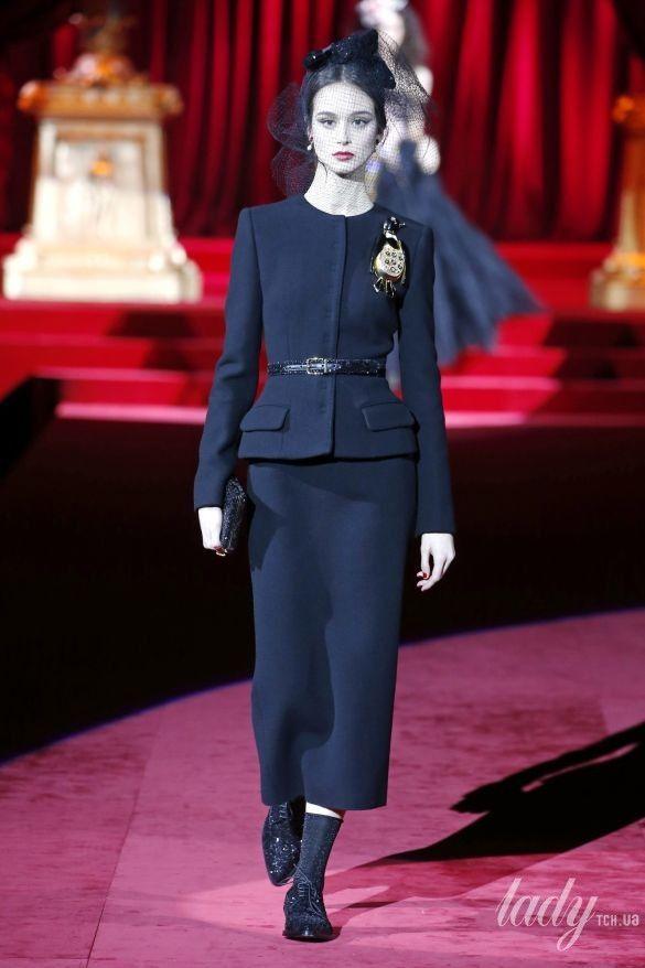Коллекция Dolce & Gabbana прет-а-порте сезона осень-зима 2019-2020_125