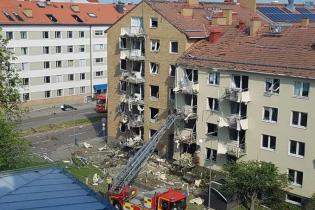 В шведском Линчепинге прогремел мощный взрыв в многоквартирном доме