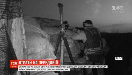 Оккупанты из артиллерии обстреляли позиции ООС под Новолуганским