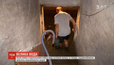 Вследствие непогоды на Прикарпатье была угроза прорыва дамбы