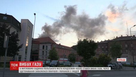 Мощный взрыв газа произошел в жилом доме Польши