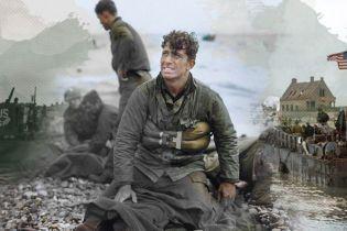 """Как выглядела историческая высадка в Нормандии – художница """"раскрасила"""" фотографии к годовщине """"Дня Д"""""""