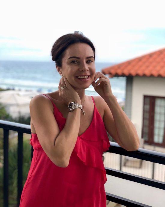 Вагітна Лілія Подкопаєва засвітила животик та показала, як займається спортом