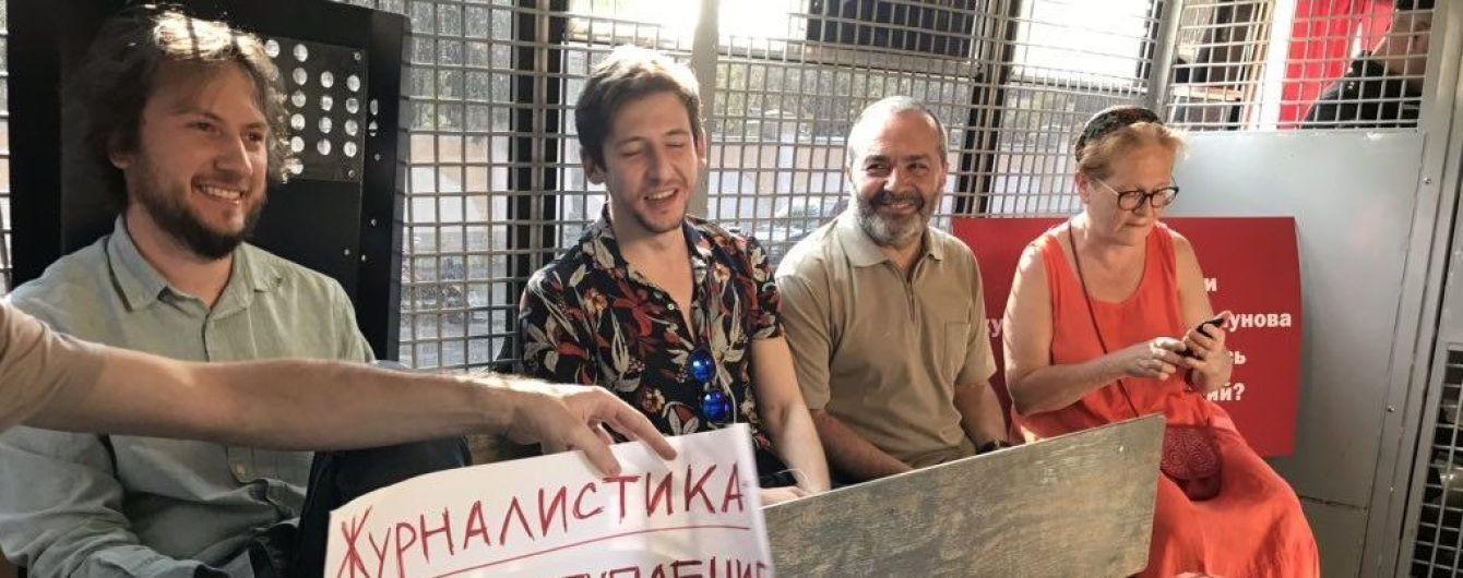 Задержание корреспондента Meduza: российская полиция повязала ряд журналистов, которые вышли на одиночные пикеты