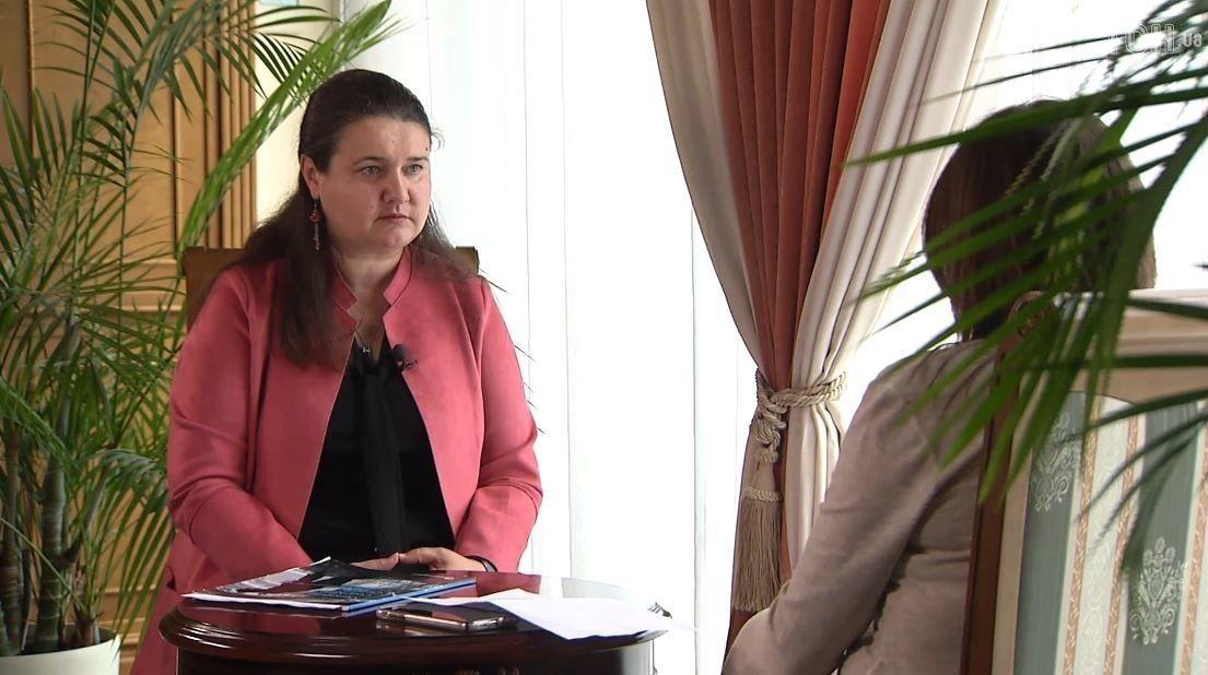 Інтерв'ю з Маркаровою