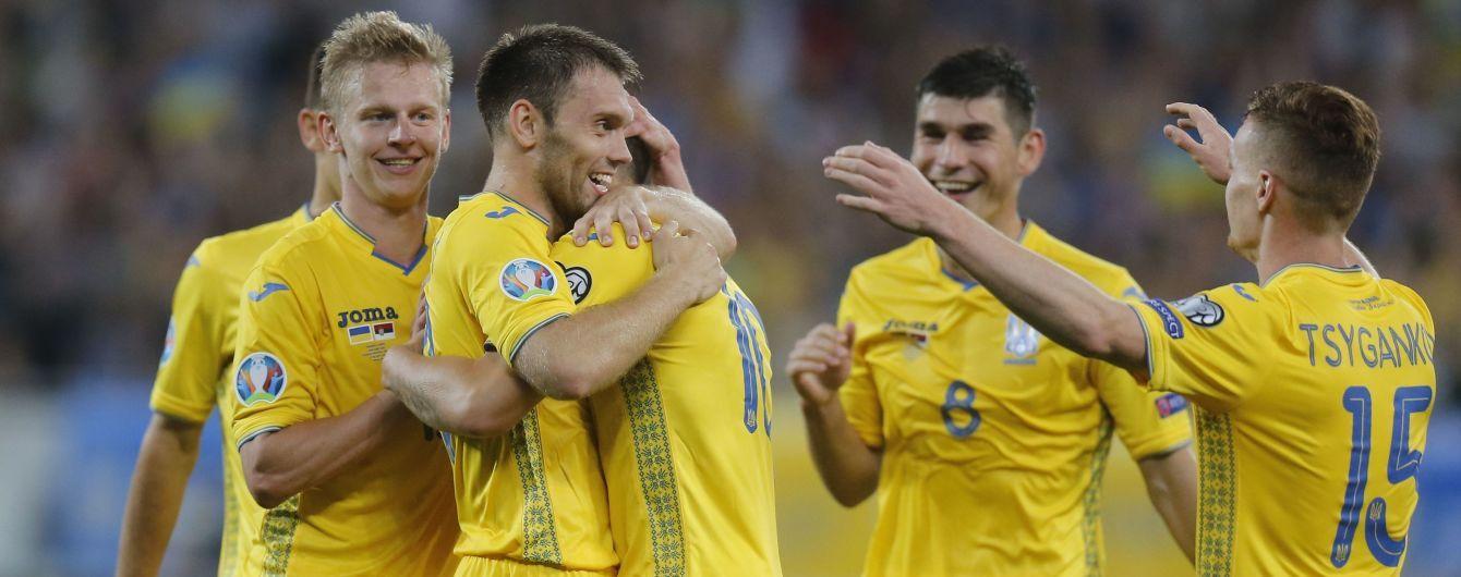 Збірна України зібралася в Харкові для підготовки до матчів з Литвою та Португалією