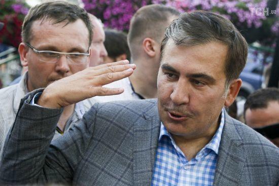 Без Кличка. Саакашвілі заявив, що його партія РНС йде на вибори самостійно