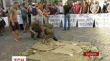 """У середмісті Львова почалися """"сміттєві"""" протести"""