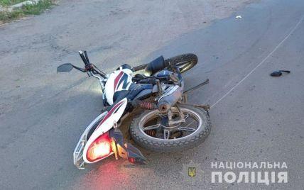 В Николаевской области мотоциклист сбил пешехода и погиб на месте ДТП
