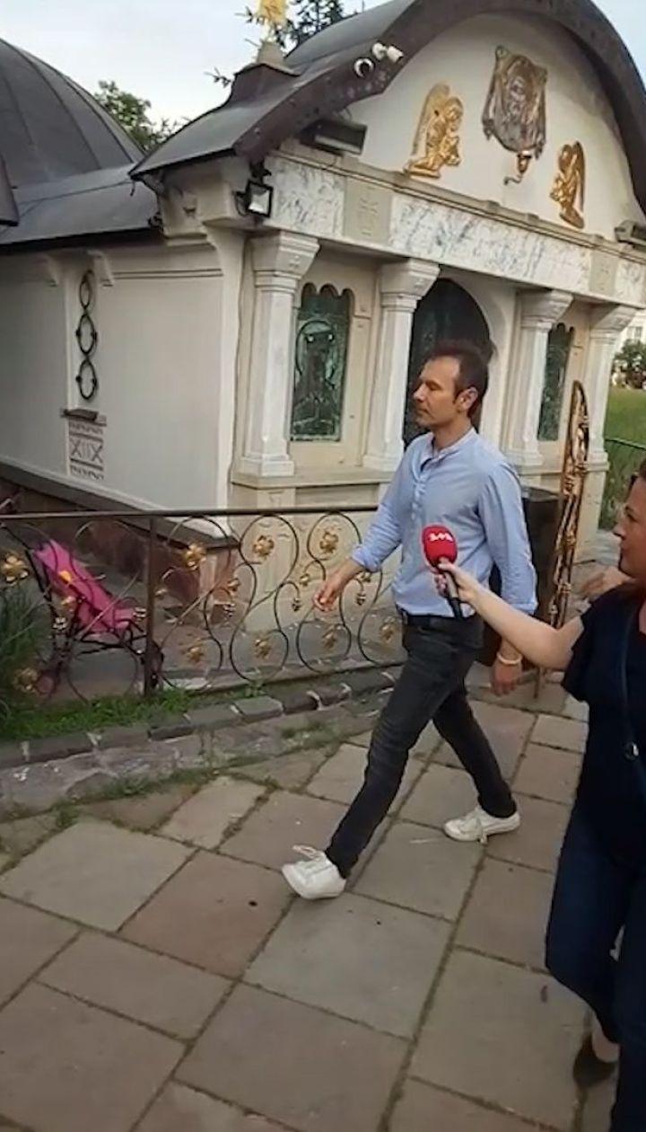 """Святослав Вакарчук приїхав на з'їзд партії """"Голос"""""""